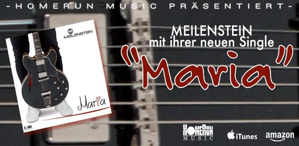 """Meilenstein mit ihrer neuen Single """"Maria"""" <small class=""""subtitle"""">Ab jetzt im Handel erhältlich!</small>"""