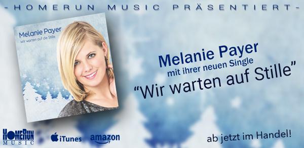 """Melanie Payers neue Single """"Wir warten auf die Stille"""" <small class=""""subtitle"""">Ab jetzt im Handel erhältlich!</small>"""