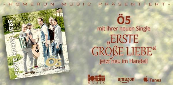 """Ö5 – """"ERSTE GROßE LIEBE"""" <small class=""""subtitle"""">Ab jetzt im Handel!</small>"""
