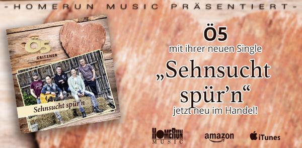 "Ö5 – ""Sehnsucht spür'n"" <small class=""subtitle"">Ab jetzt im Handel!</small>"