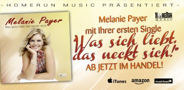 """Melanie Payers erster Single """"Was sich sich liebt das ..."""